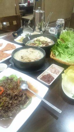 Springs Hotel: Korean restaurant on 2nd floor