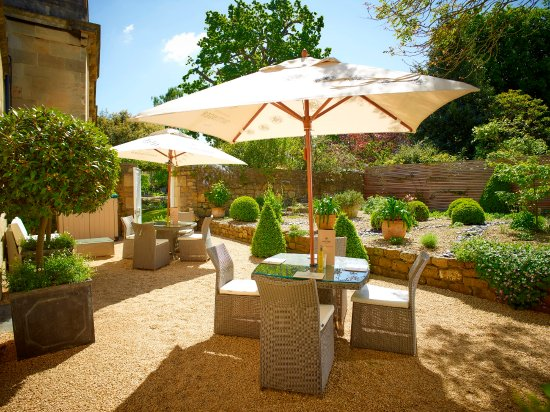 The Royal Crescent Hotel & Spa : Garden Terrace