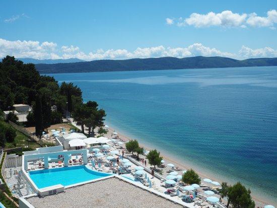 Zivogosce, Croacia: View from room 0305