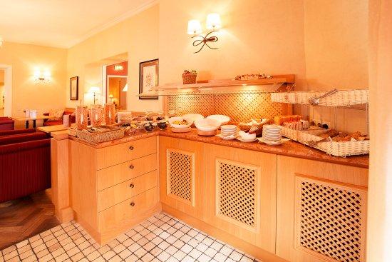Hotel Villa Florentina: Frühstücksbuffet