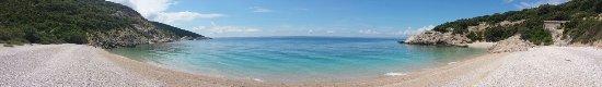 Cres Island, Kroatië: Spiaggia deserta