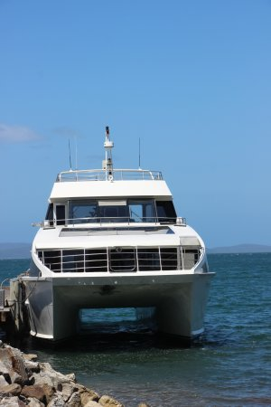 Woodbridge, Australien: Our transport to Peppermint Bay