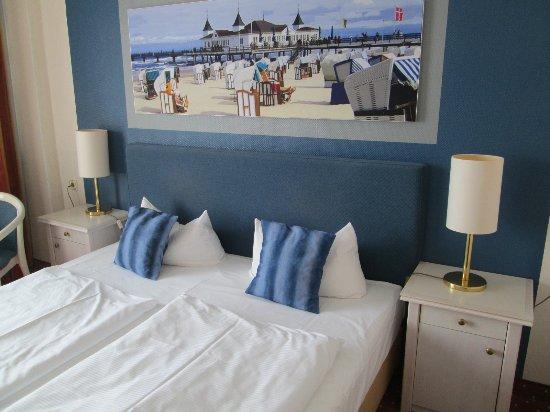 TRYP by Wyndham Ahlbeck Strandhotel: Doppelbetten