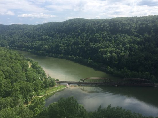 Ansted, Virginia Occidental: Hawks Nest State Park