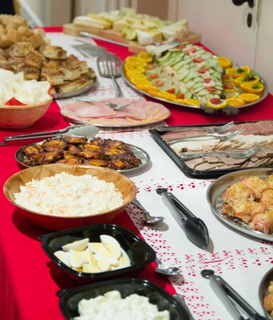 Martock, UK: A small section from the Buffet provided