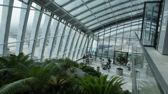 gardens and atrium area of sky garden picture of sky garden london tripadvisor. Black Bedroom Furniture Sets. Home Design Ideas