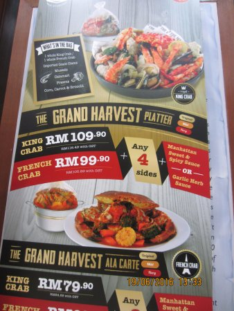 Special offer menu picture of the manhattan fish market for Fish district menu
