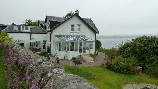Duncreggan House: Wintergarten von außen gesehen