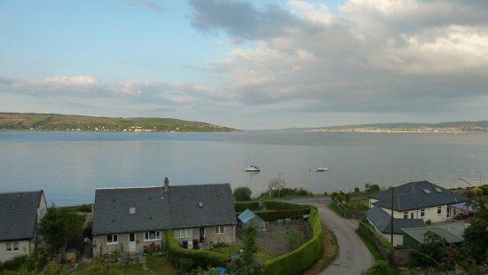 Duncreggan House: Aussicht mit Blick auf die Mündung des Clyde