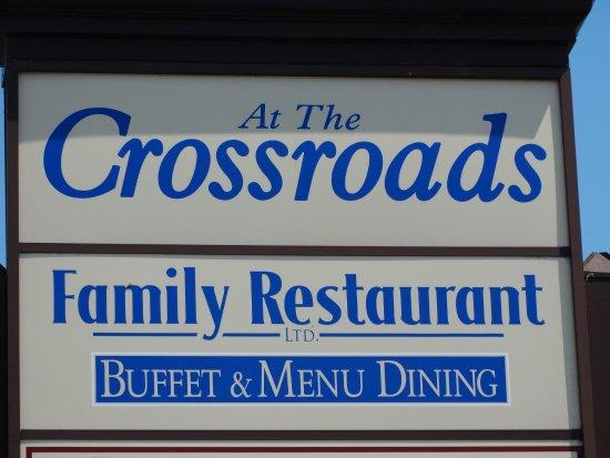 Foto de At The Crossroads Family Restaurant Ltd.