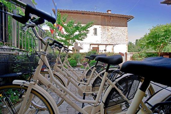 Hotel Arcobaleno: Il servizio bici