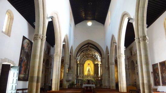 Igreja de São João Baptista: Visão interna