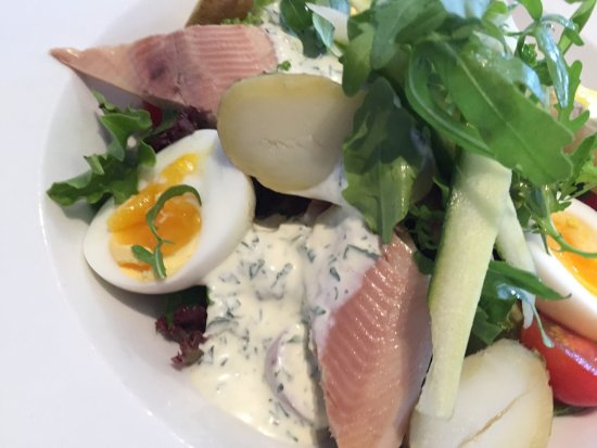The Grove: Smoked trout salad