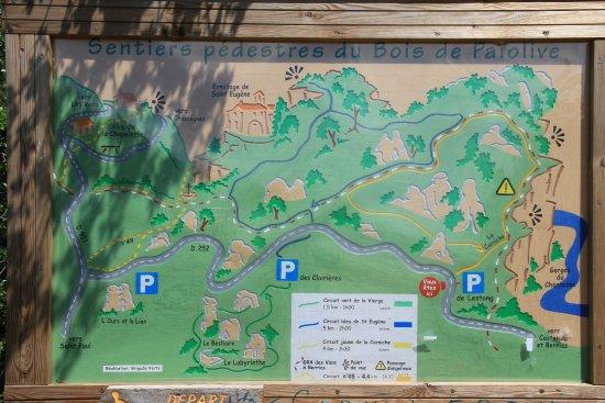 Lablachere, Prancis: wandelingen