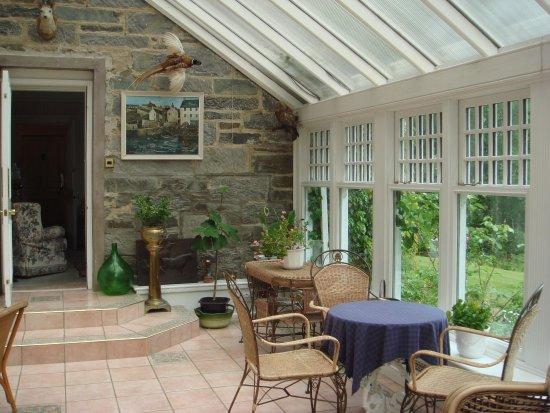 Strathtay, UK: veranda, en partie (+tv)