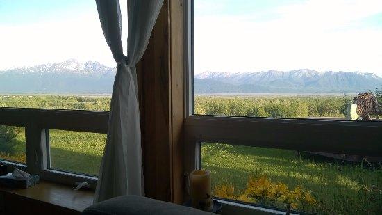 بايونير ريدج بيد آند بريكفاست إن: Morning coffee view from the living room