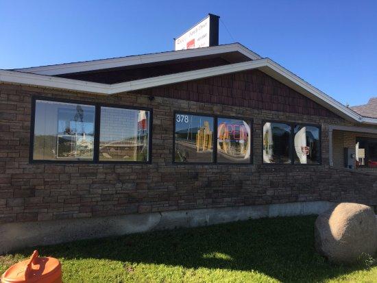 Fort Kent, ME: Outside of Rocks Diner