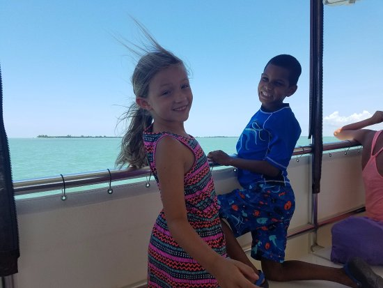 Captiva Cruises: The boat ride out