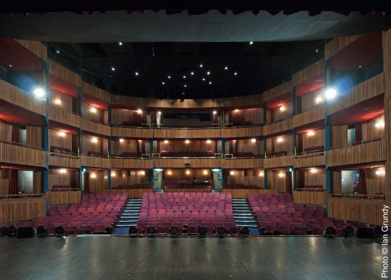 Stockton-on-Tees, UK : Auditorium From The Stage