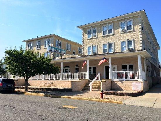 Belmar Inn: Hotel Front
