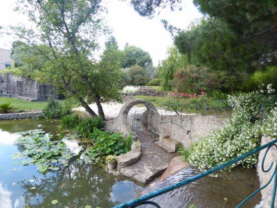 Tonnelle et barri re avec du fer de r cup ration photo de le jardin de saint adrien servian - Les jardins de saint adrien ...