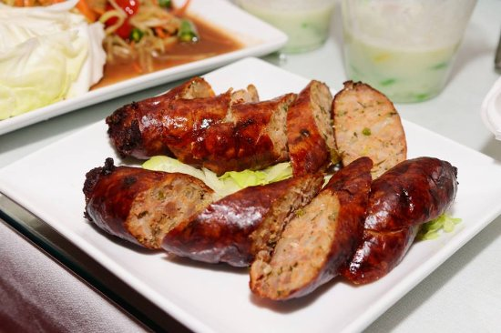 Lao Sausage Picture Of Pattaya Cafe ThaiLao Cuisine Duluth - Cuisine laotienne