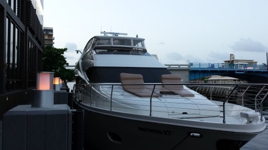Coastal Yacht Tours: Docked at Blue Moon for Dinner Cruise