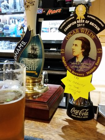 The Woodbine Inn: A special ale and well worth it