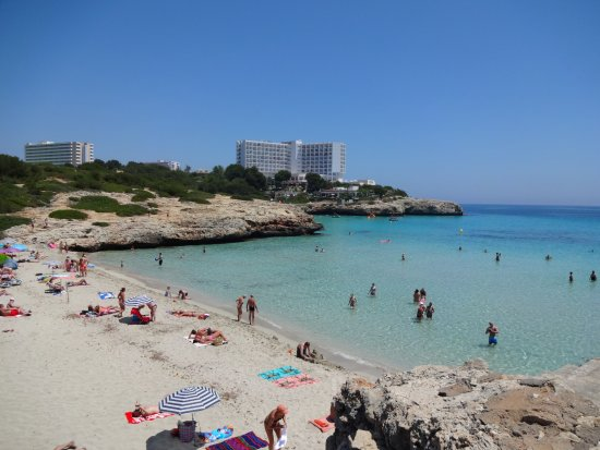 Cala Domingos Petits - a nice uncrowded beach ! - Picture of Cala Domingos, C...