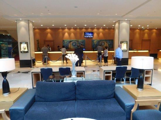 Hilton Vienna: Entrée-Réception