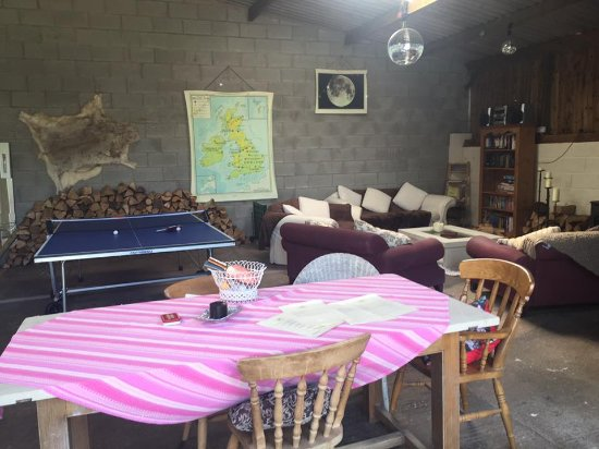 fab games room in the big shed!