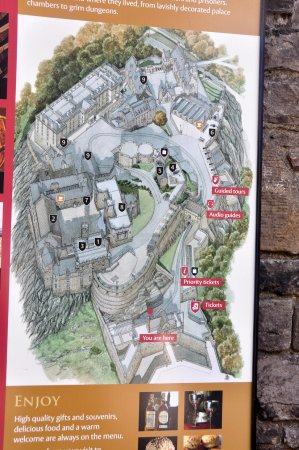 Edinburg Scotland Castle Map Picture of Edinburgh Scotland