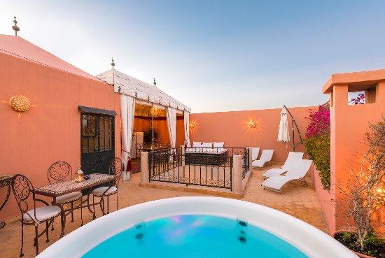 La Terrasse Jacuzzi Picture Of Riad Art De Vivre Marrakech