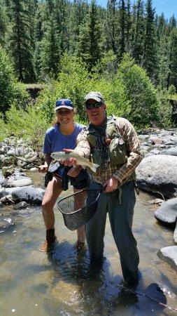 High Country Fishing Charters - Tours: Beautiful country, beautiful day, beautiful trout.