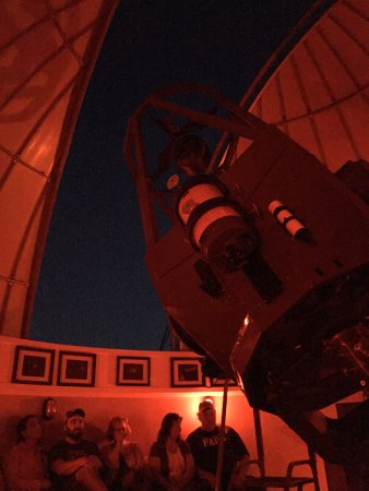 Gunnison, CO: Telescope and observation area