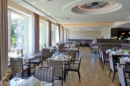 Berg- und Jagdhotel Gabelbach: Blick in den Frühstücks- und Speisesaal