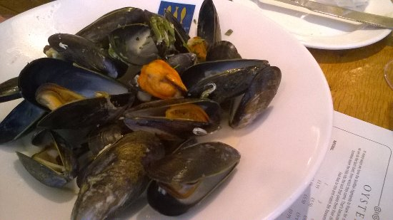 Loch Fyne: The Scottish rope grown mussels were lovely!