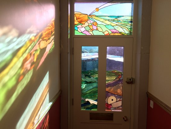 Bradwell, UK: Stained Glass inspired by our views