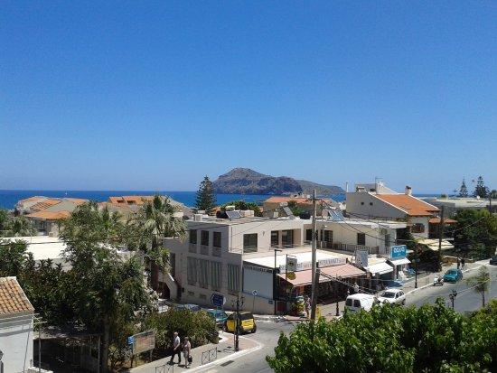 Porto Platanias Beach Resort & Spa: View from my balcony