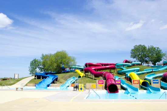 Fun Mountain Waterslide Park : Our big kids and adult slides.