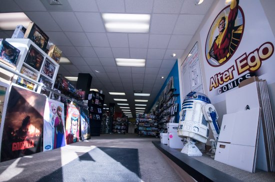 Alter Ego Comics: Take your picture with our life-size R2-D2.