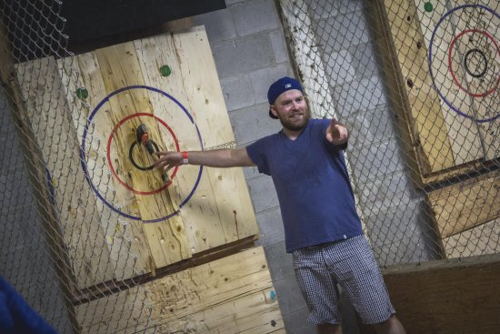‪BATL - The Backyard Axe Throwing League‬