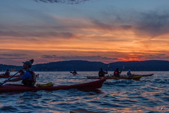 Croton on Hudson, estado de Nueva York: Gorgeous sunset tour