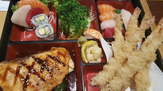bento box picture of sushi ya japanese toronto tripadvisor. Black Bedroom Furniture Sets. Home Design Ideas