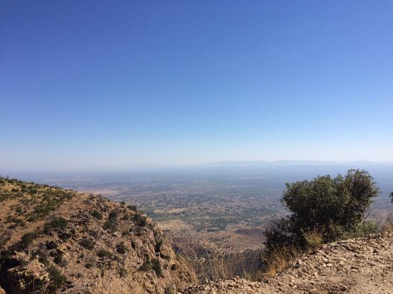 Sierra Vista, AZ: View the city from the cool mountain top