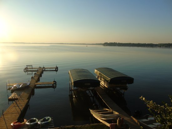 Stoughton, WI: Docks at Crown Point