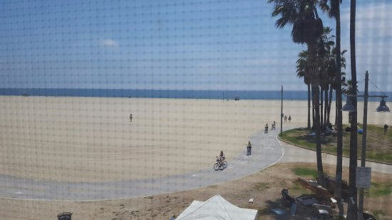 "Cadillac Hotel: View from Ocean Suite room on the 2nd floor. You can see the ""camps"" set up by the homeless."