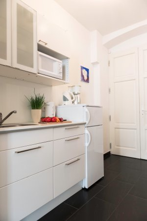 Old Vienna Apartments: Sinfonie kitchen