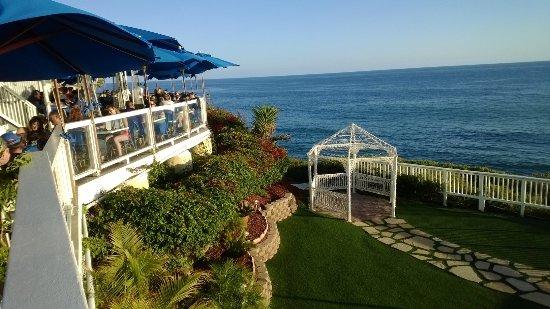 The Cliff Restaurant Laguna Beach Casual Dining Superb Locale Aaron Best Waiter