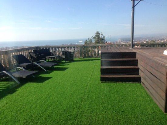 Terrazza con piscina personale e vista mozzafiato su catania billede af villa del bosco hotel - Hotel con piscina catania ...
